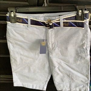 New! Boys belted Polo Ralph Lauren shorts size 10